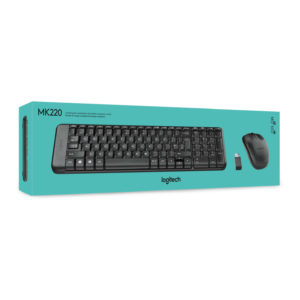 LOGITECH MK220 WL KEYBOARD AND MOUSE