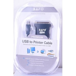 BAFO Premium USB to Printer Cable RA-USB-1284-V1